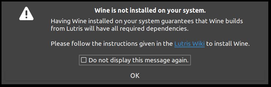 Add wine dependencies · Issue #15 · RobLoach/net lutris