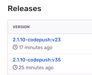 Question] Code-Push version for both iOS and Android · Issue