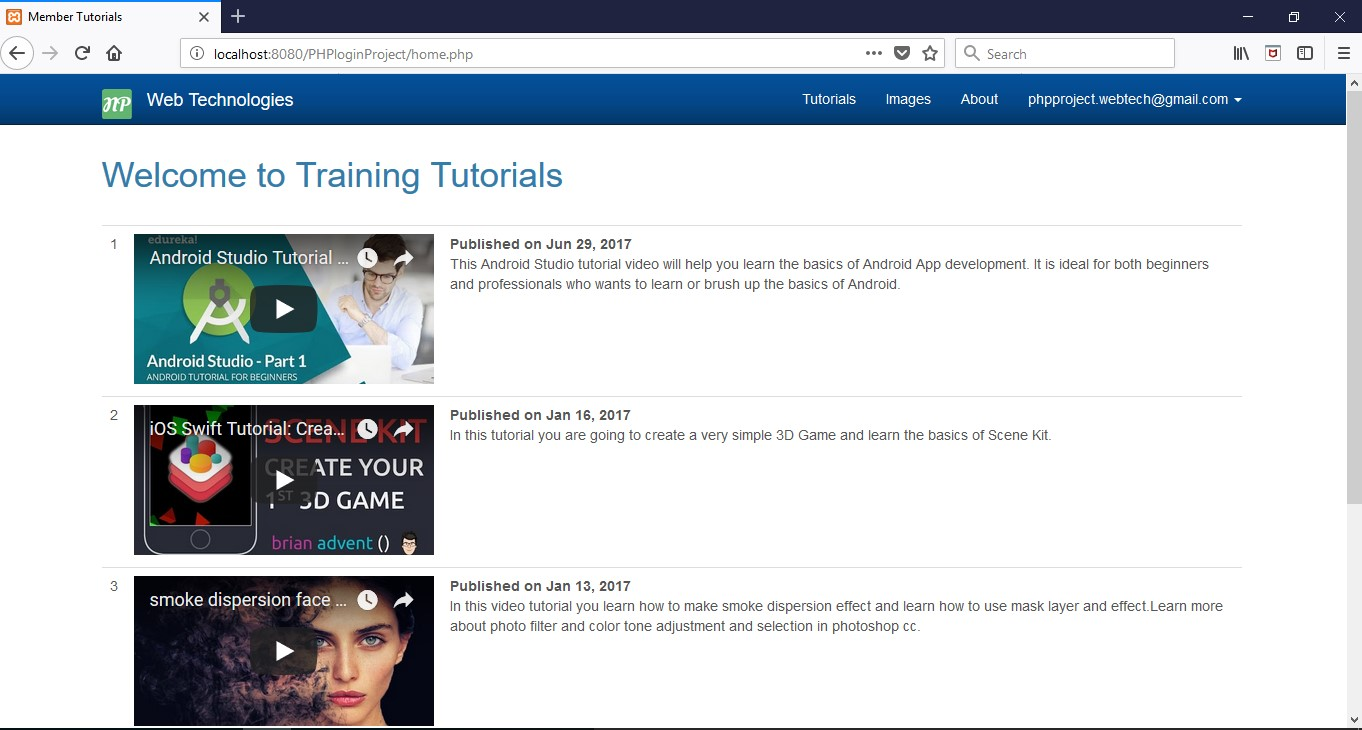 php-training