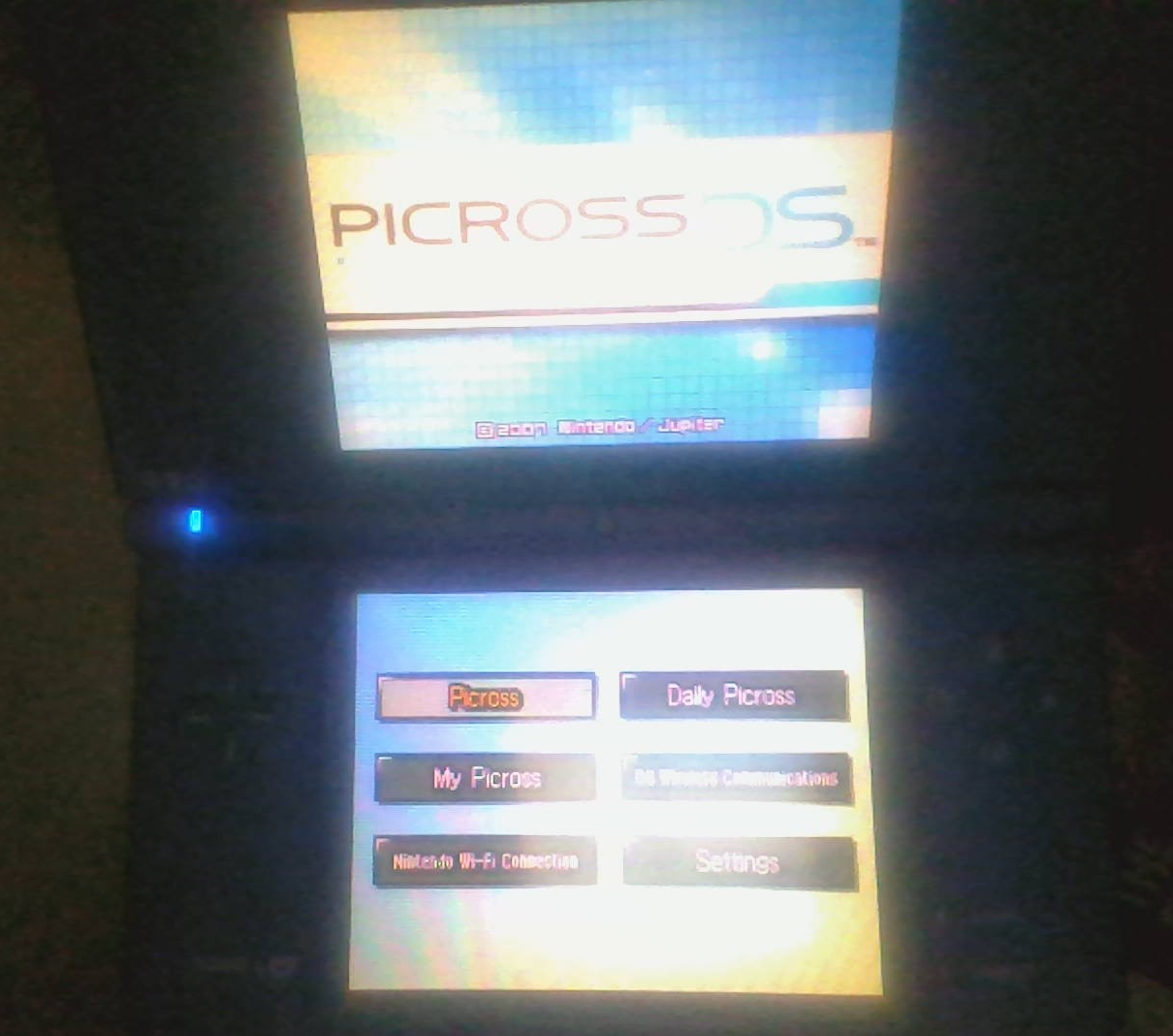Picross DS does not display top screen · Issue #591 · ahezard/nds