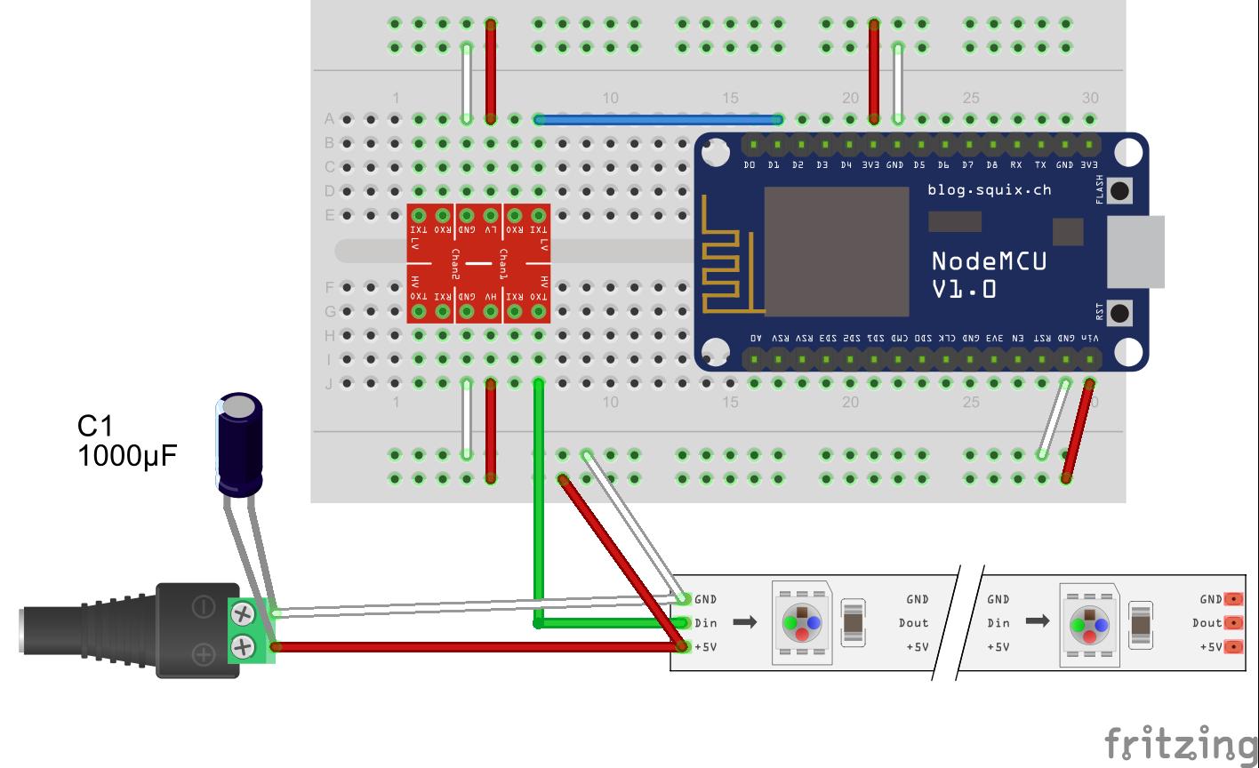 Hardware Schematic Question · Issue #417 · toblum/McLighting ... on