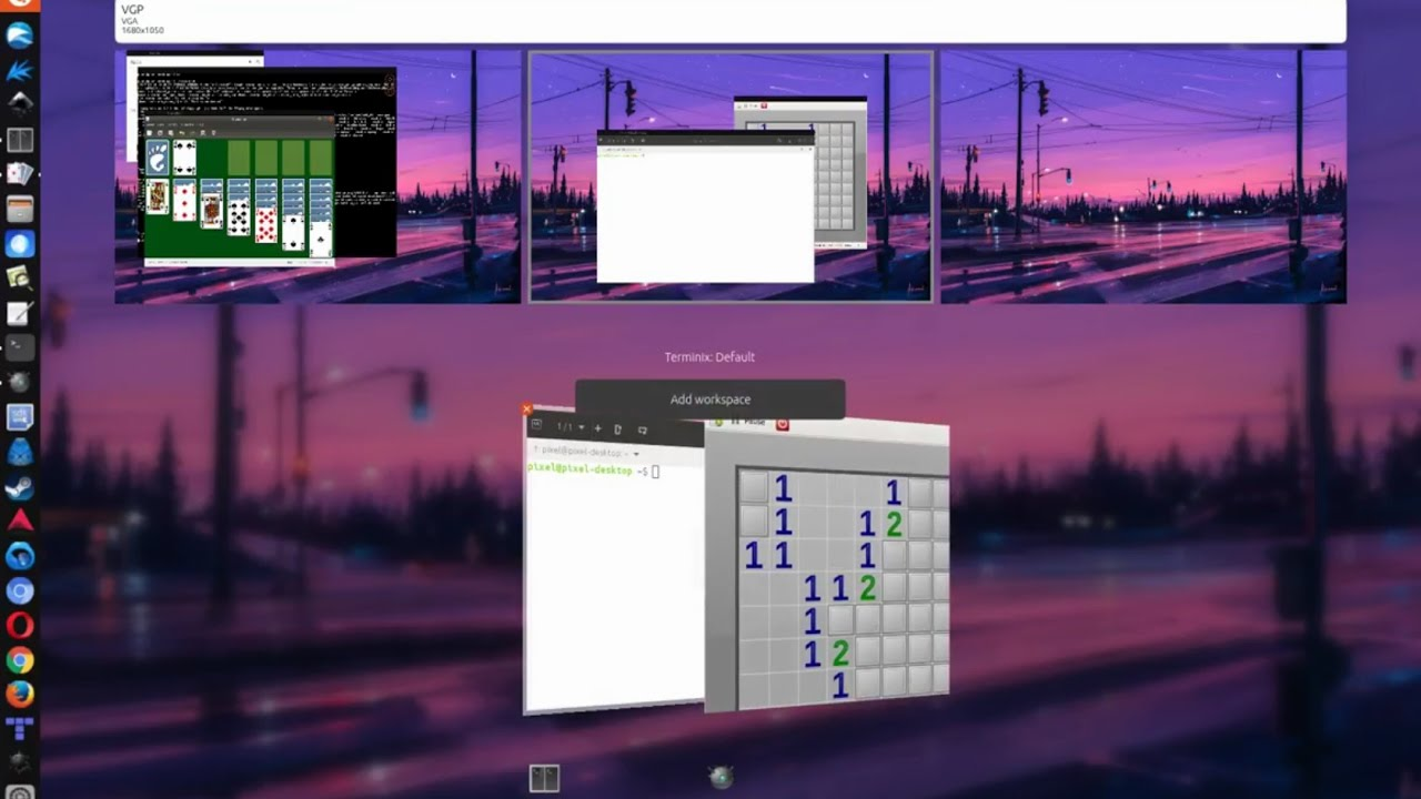 gnome 3 workspace indicator forex