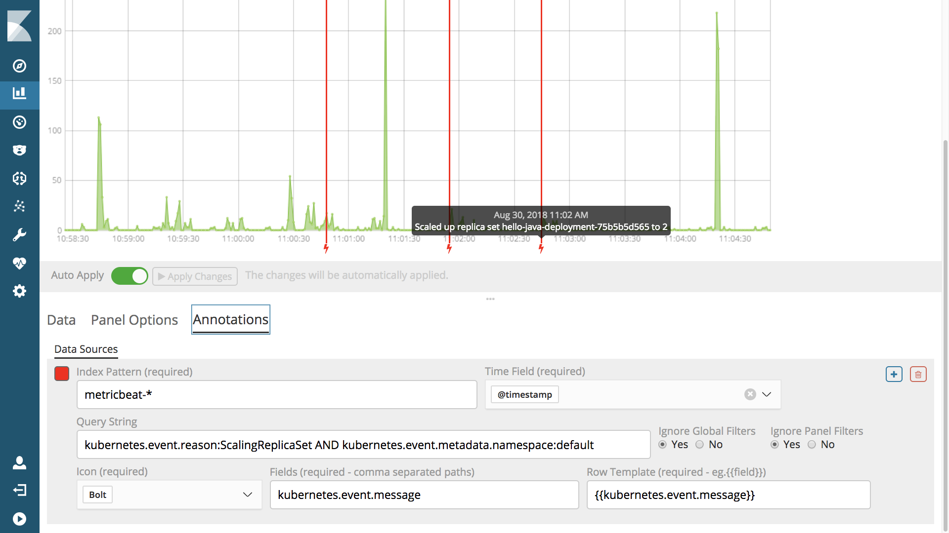 ELK hints based k8s autodiscover: logs & metrics by