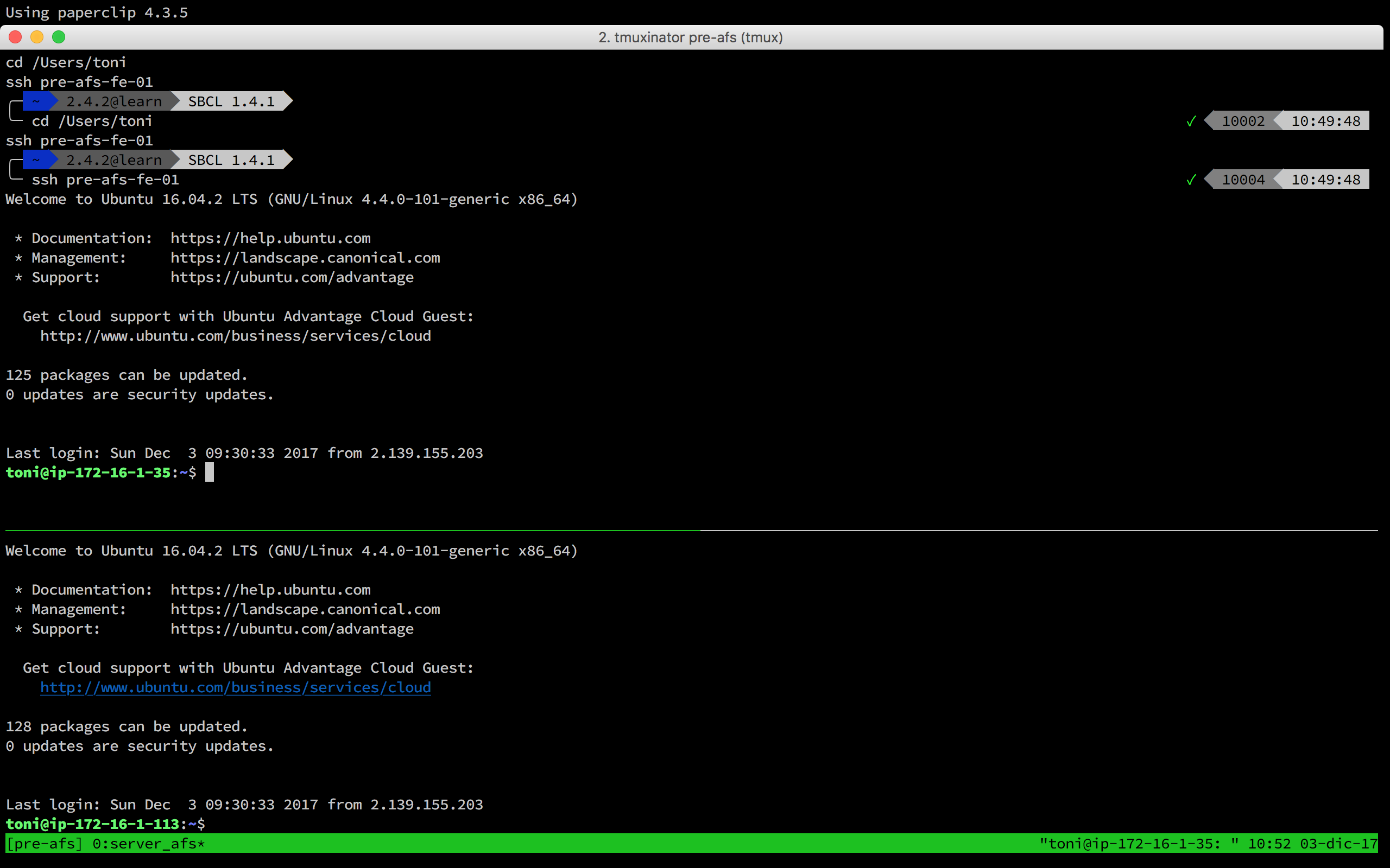 on_project_start: tmux -CC attach doesn't work · Issue #581