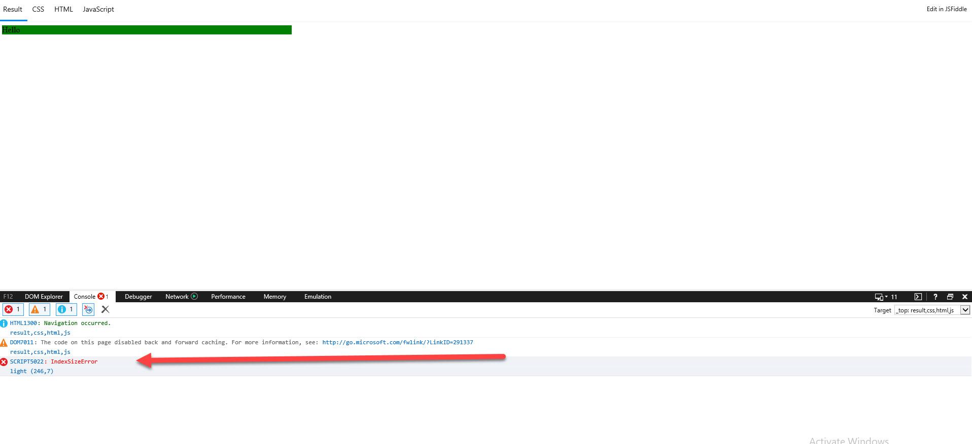 IndexSizeError in Internet Explorer 11 · Issue #72