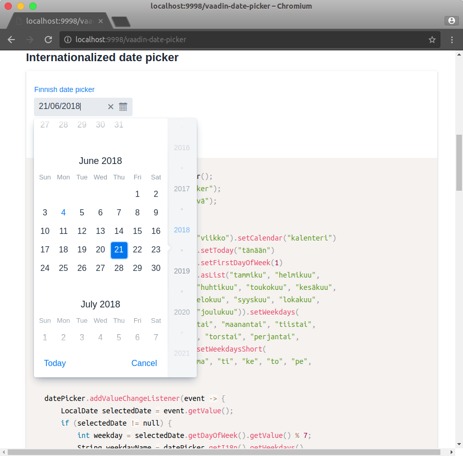 DatePickerI18n is not working · Issue #88 · vaadin/vaadin