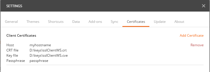 Support client certificate authentication · Issue #482 · postmanlabs ...