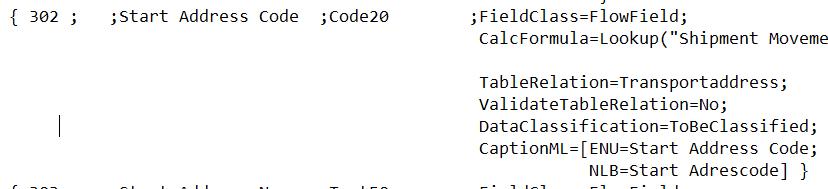 Fix AL0223 error on Flowfield using Txt2AL conversion