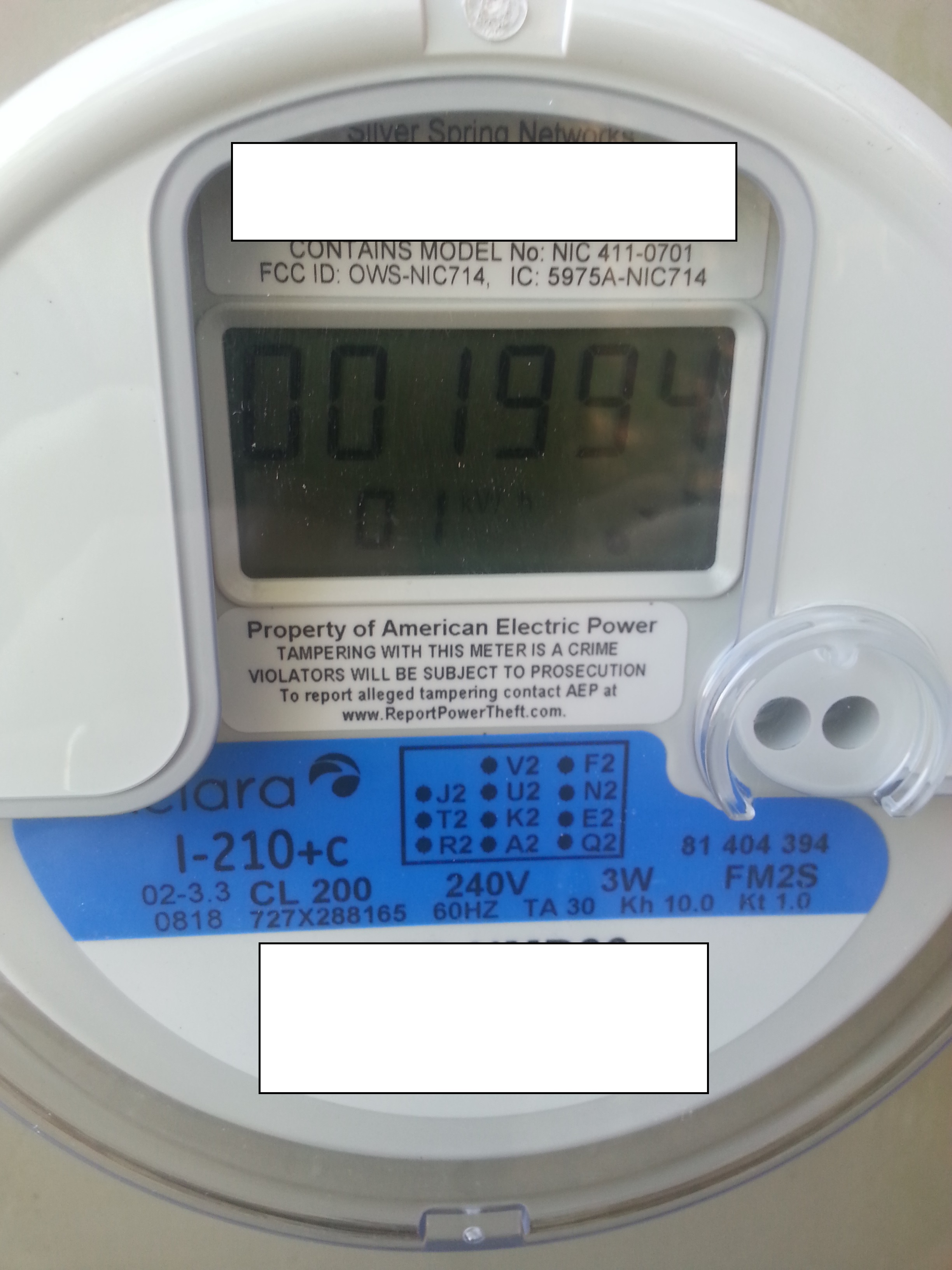 New 'Aclara' meter replaces Itron - no messages · Issue #108