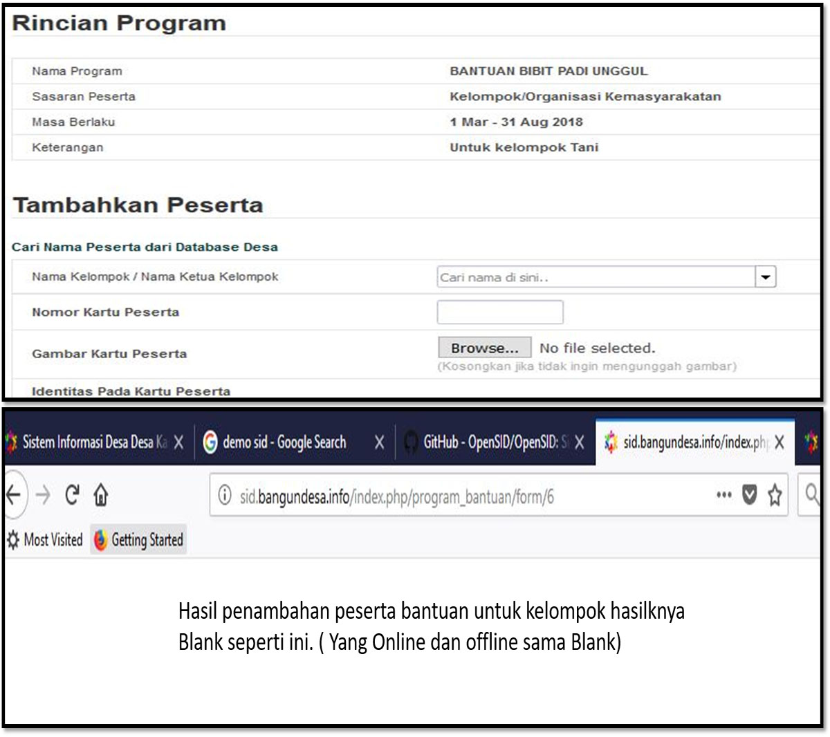 error program bantuan-1