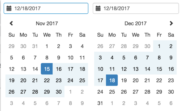 date range picker · Issue #15903 · angular/components · GitHub