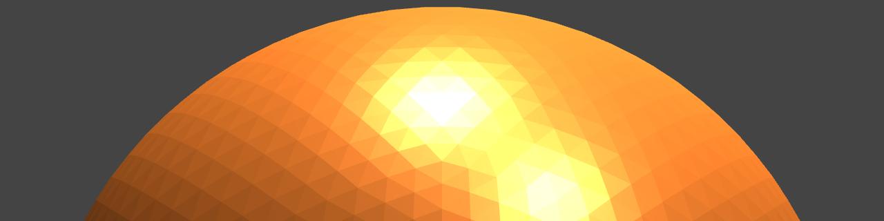 Icosphere mesh