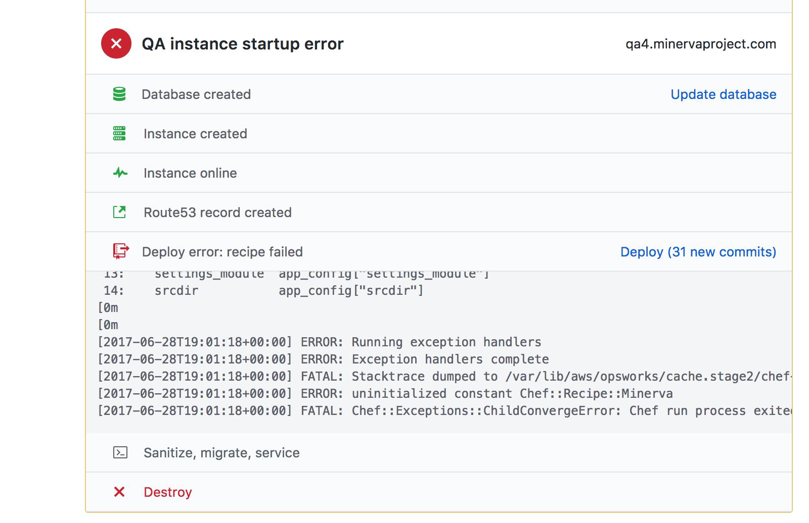 error state small