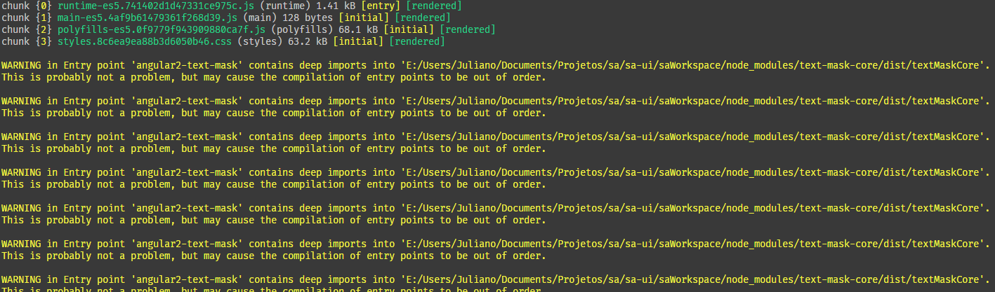 Trying out @angular/8 0 0-rc 3 + Ivy with entry-point error · Issue