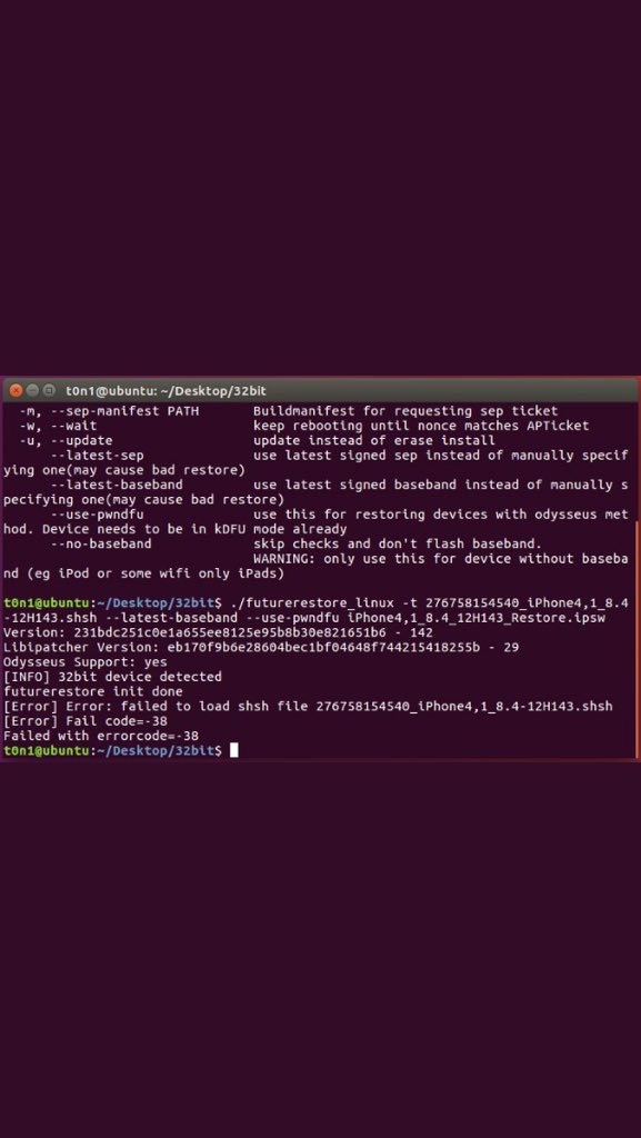 Onboard Blobs error · Issue #142 · tihmstar/futurerestore · GitHub