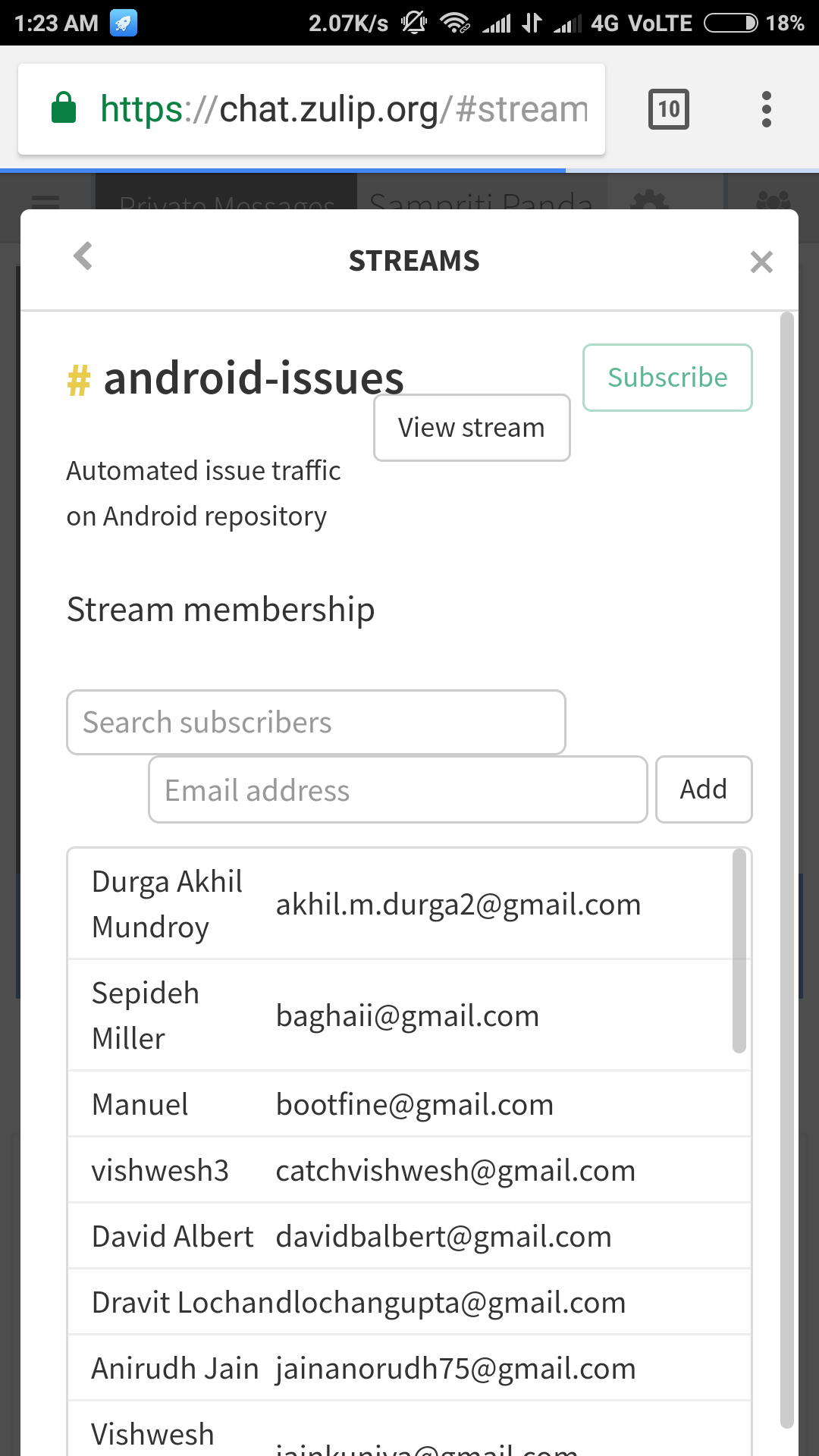 Stream Settings : css bug in mobile view · Issue #7712