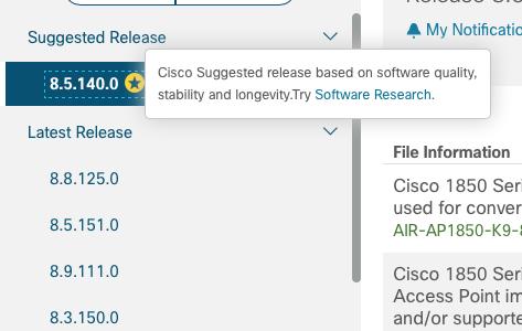 Error setting up platform legacy - Cisco mobility Express · Issue