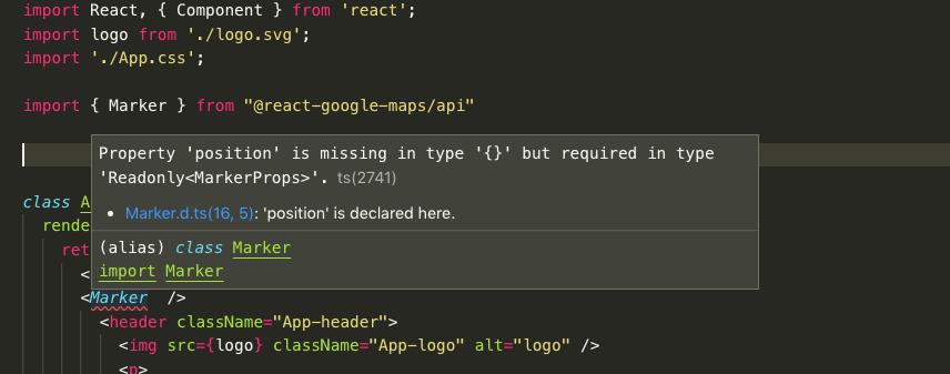 Should @types/googlemaps be in dependencies? · Issue #57