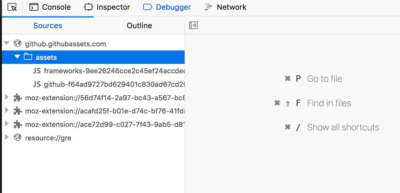 Debugger fails loading with error in SourcesTree