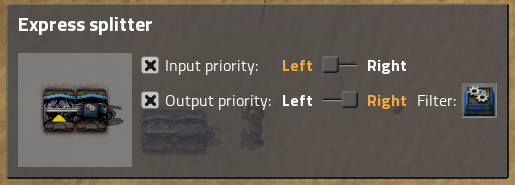 Factorio Output Priority
