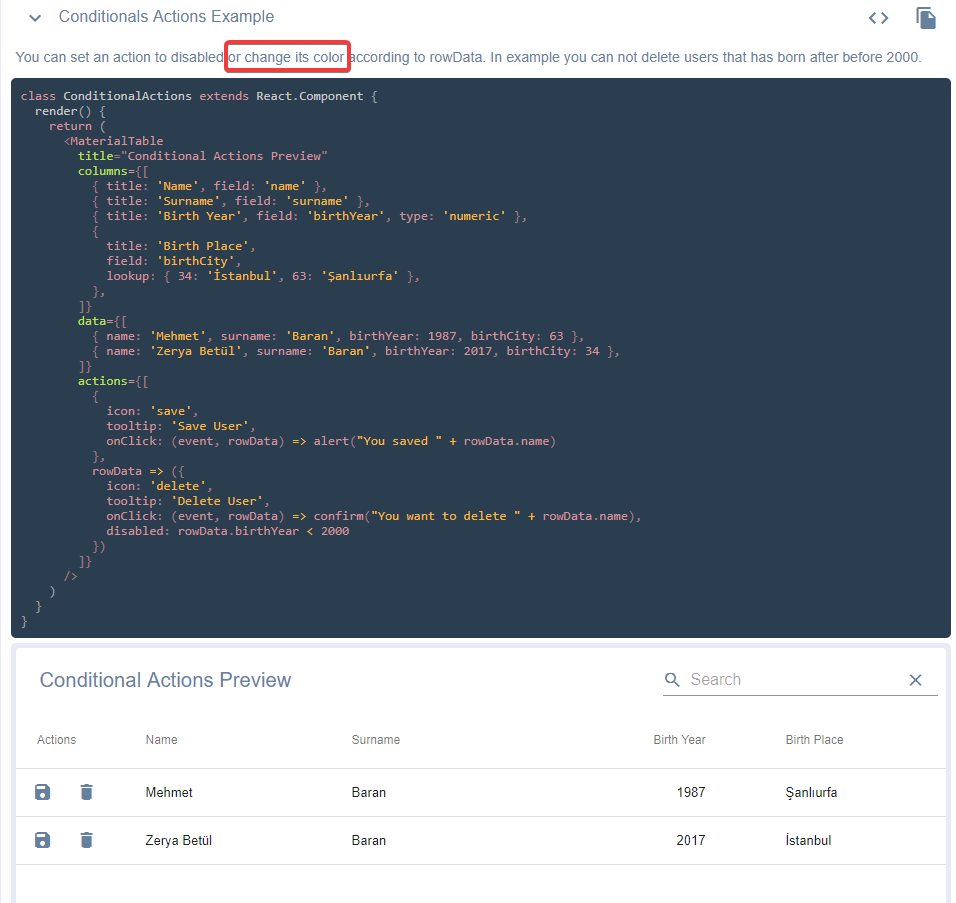 Conditional Actions - styling (hidden?) · Issue #609 · mbrn