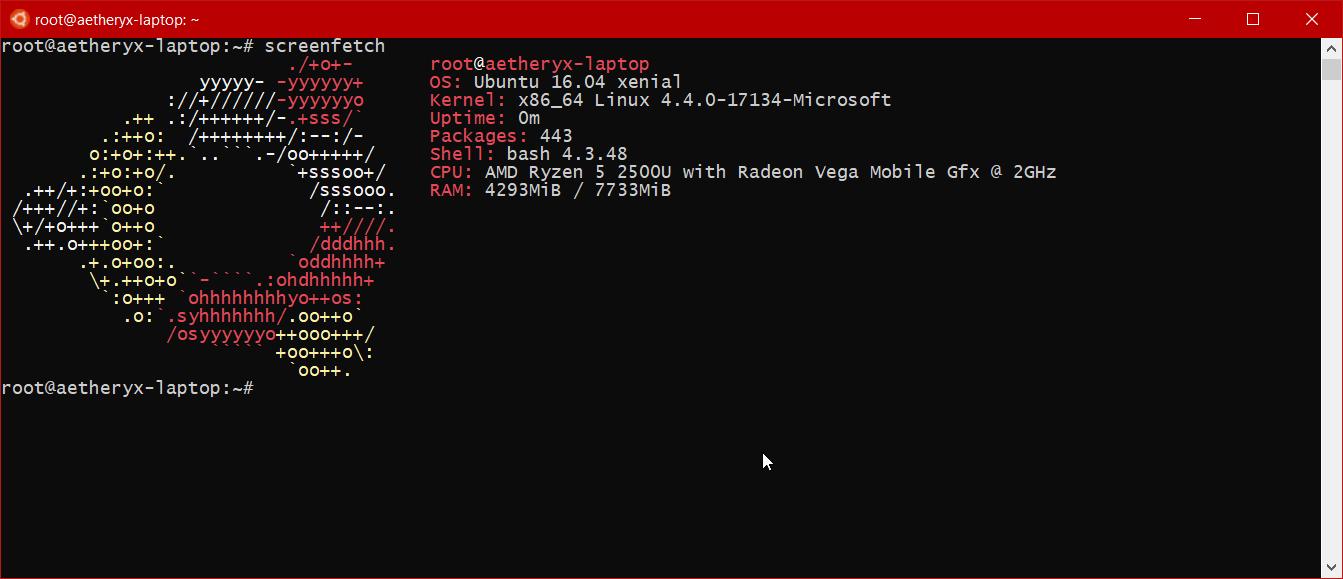 Error 0x80070003 when I `bash`, but totally fine when I manually run