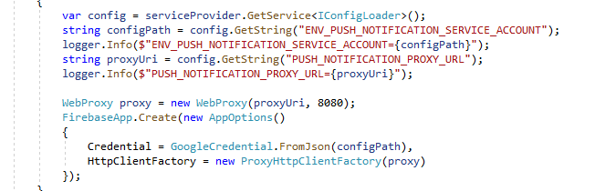 Firebase admin proxy issue · Issue #85 · firebase/firebase-admin