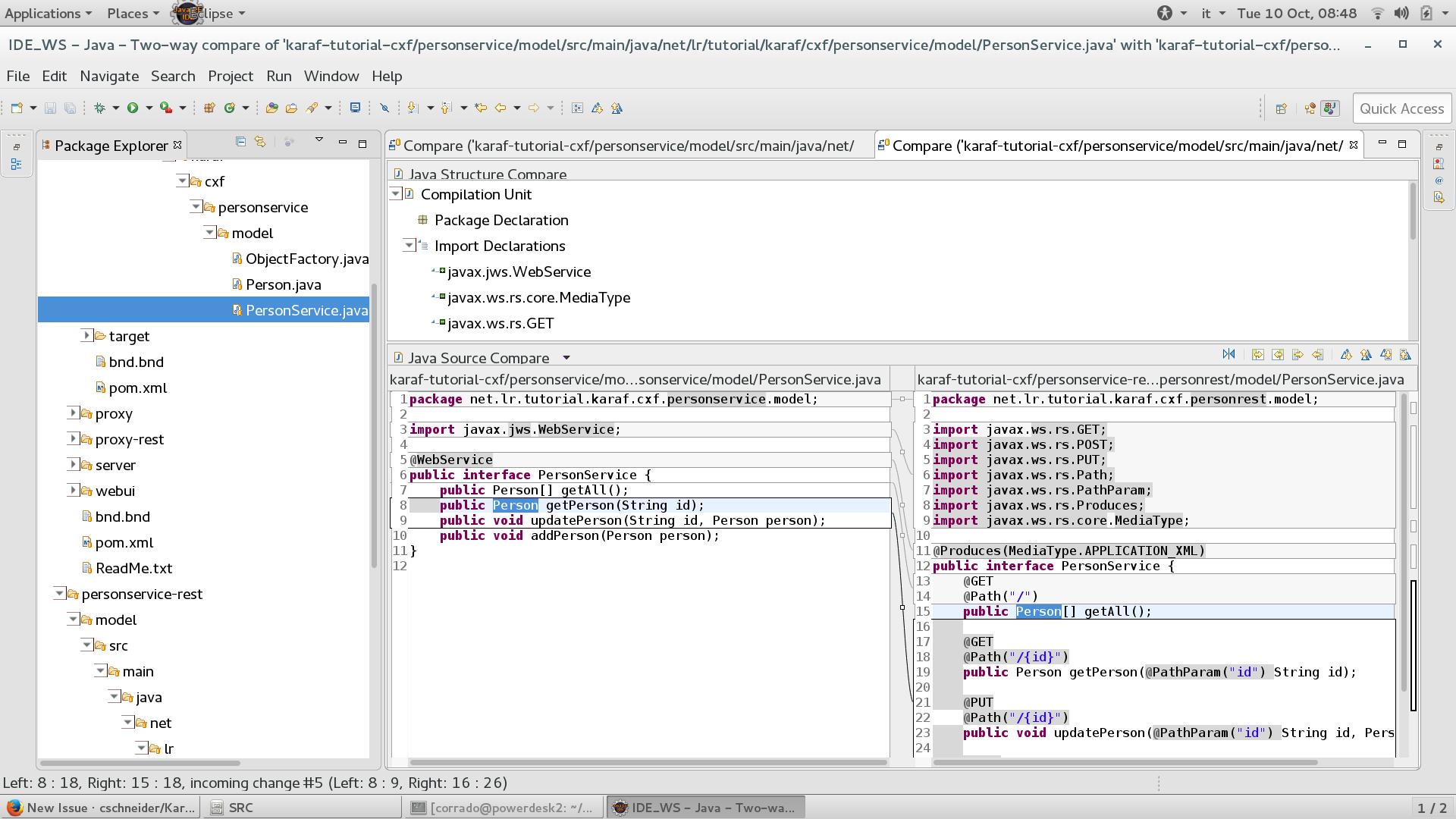 Some work required karaf tutorial part 4 cxf services in osgi screenshot from 2017 10 10 08 48 51 malvernweather Choice Image