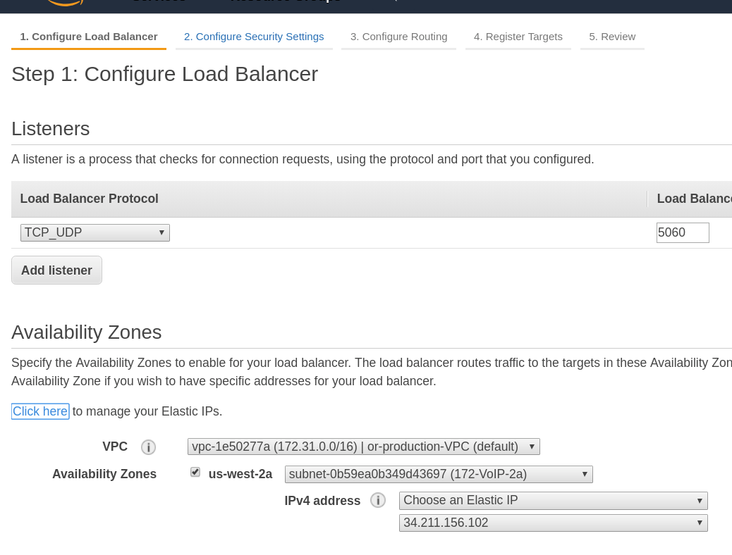 LoadBalancerIP support for Amazon LoadBalancer · Issue #48