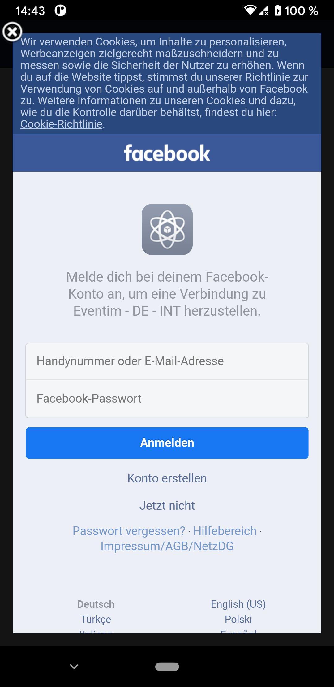 Login deutschland facebook logo/fbfordevelopers