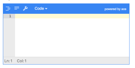 Error in onChange callback: Error: Parse error on line 1