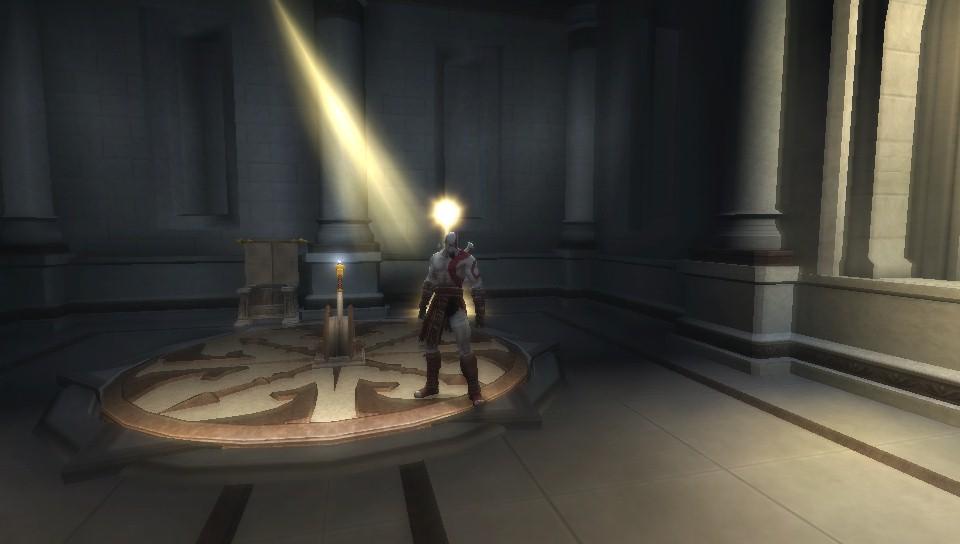 Vulkan : God Of War Chains Of Olympus flicker lighting on