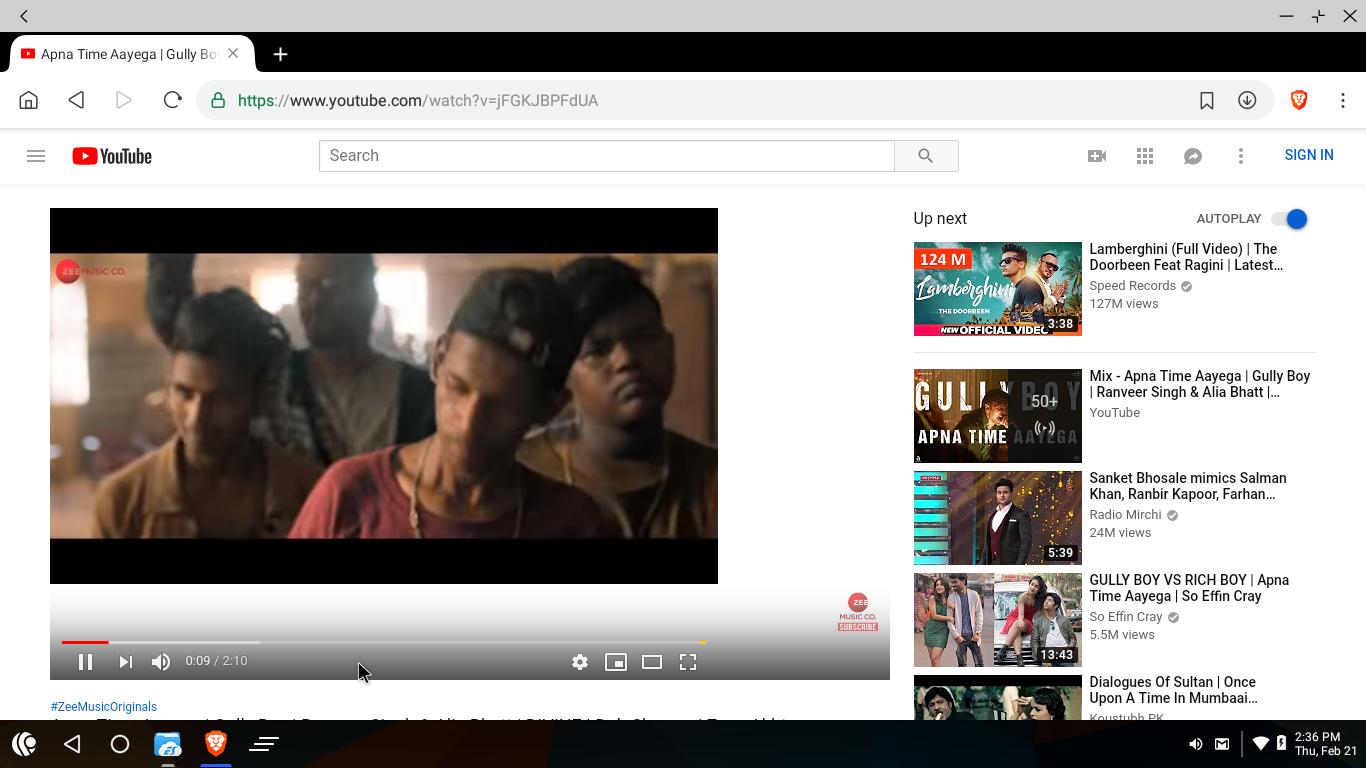 Youtube player not taking full space in desktop mode
