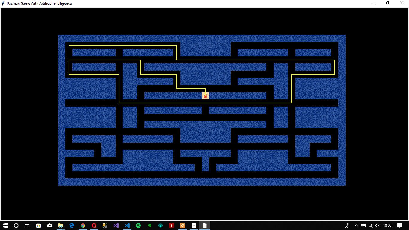GitHub - hbergun/AI_Pacman: Artificial Intelligence Pacman