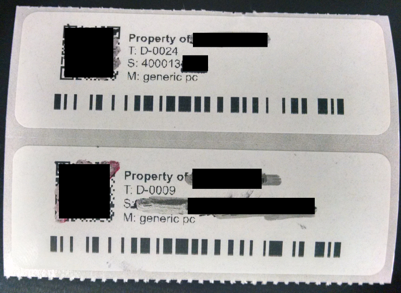 Question] Recommended Asset label printer? · Issue #3526