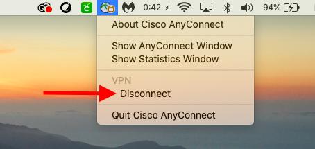 Mac-Disconnect