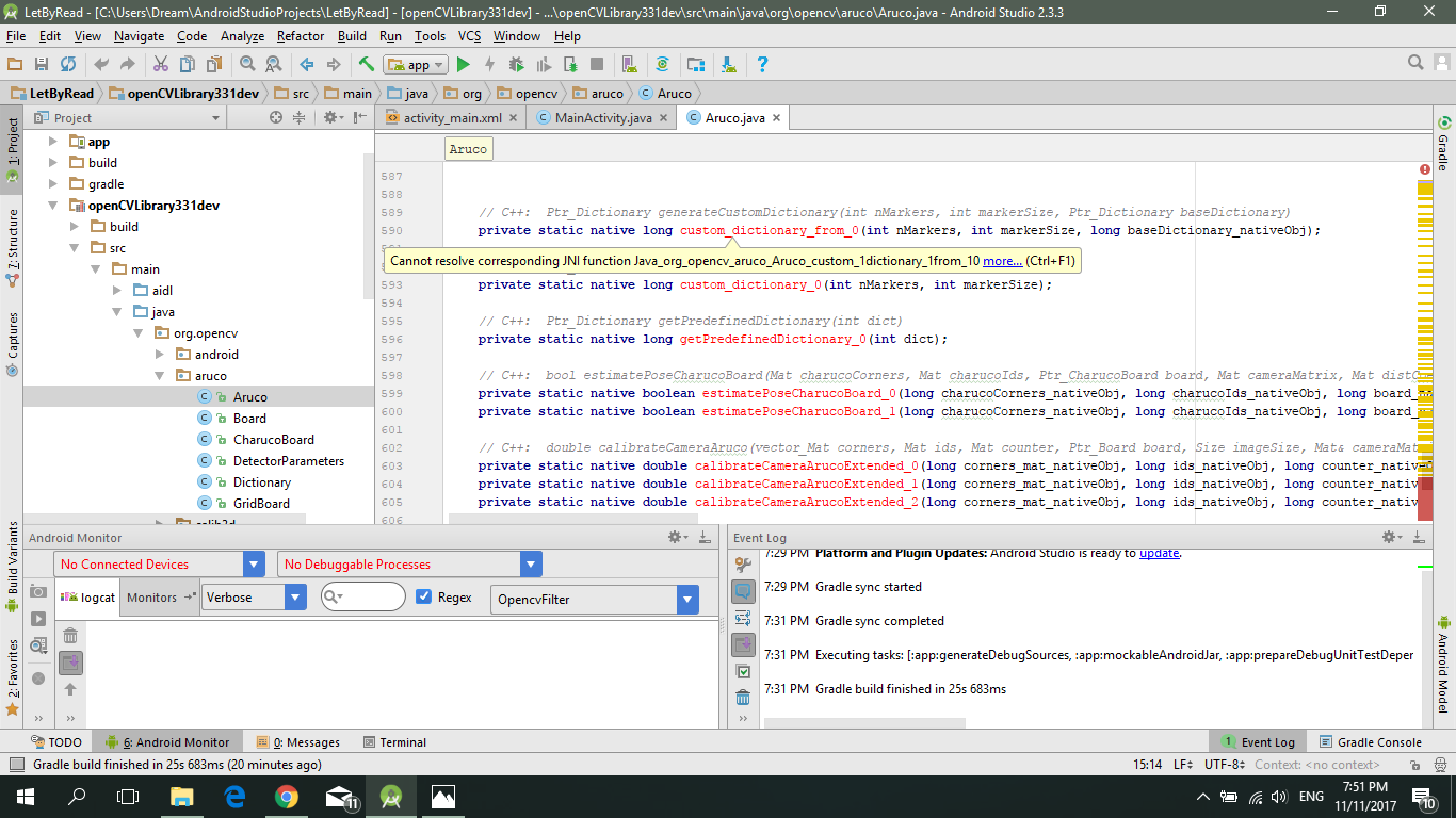 Aruco Java Crash 183 Issue 929 183 Opencv Opencv Contrib