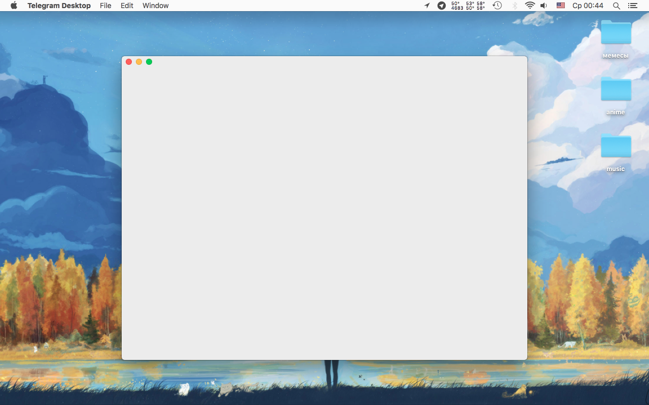 App launches with a blank dialog window on macOS Mojave (10 14 4) on