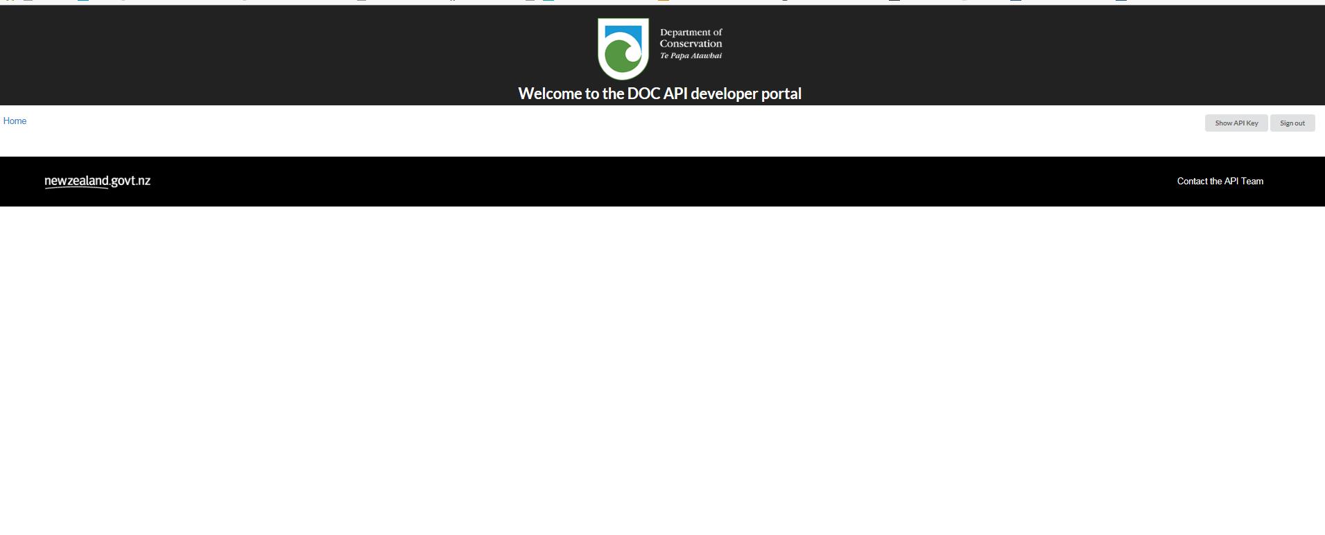 Browser issue - Dev portal doesn't work on Internet explorer