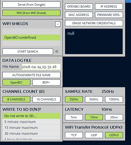 Openbci Wifi Shield