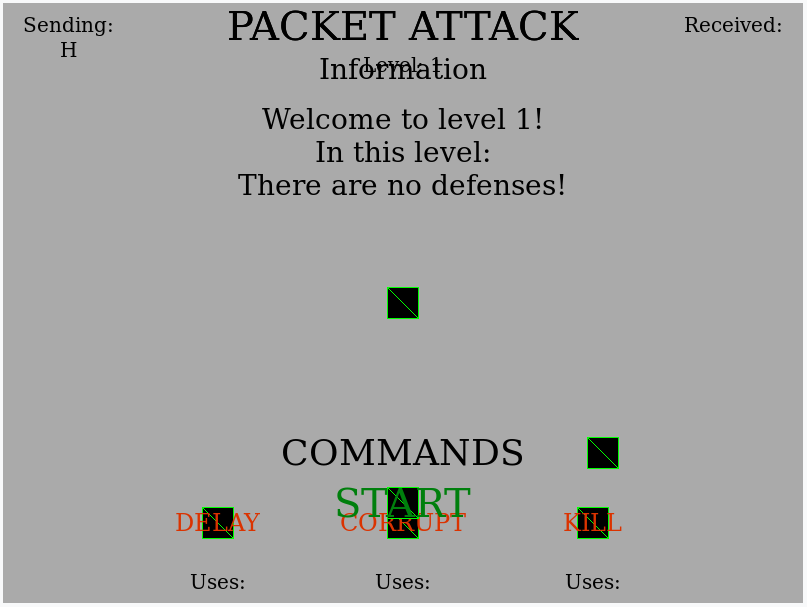Issue with Packet Attack Interactive on dev site · Issue