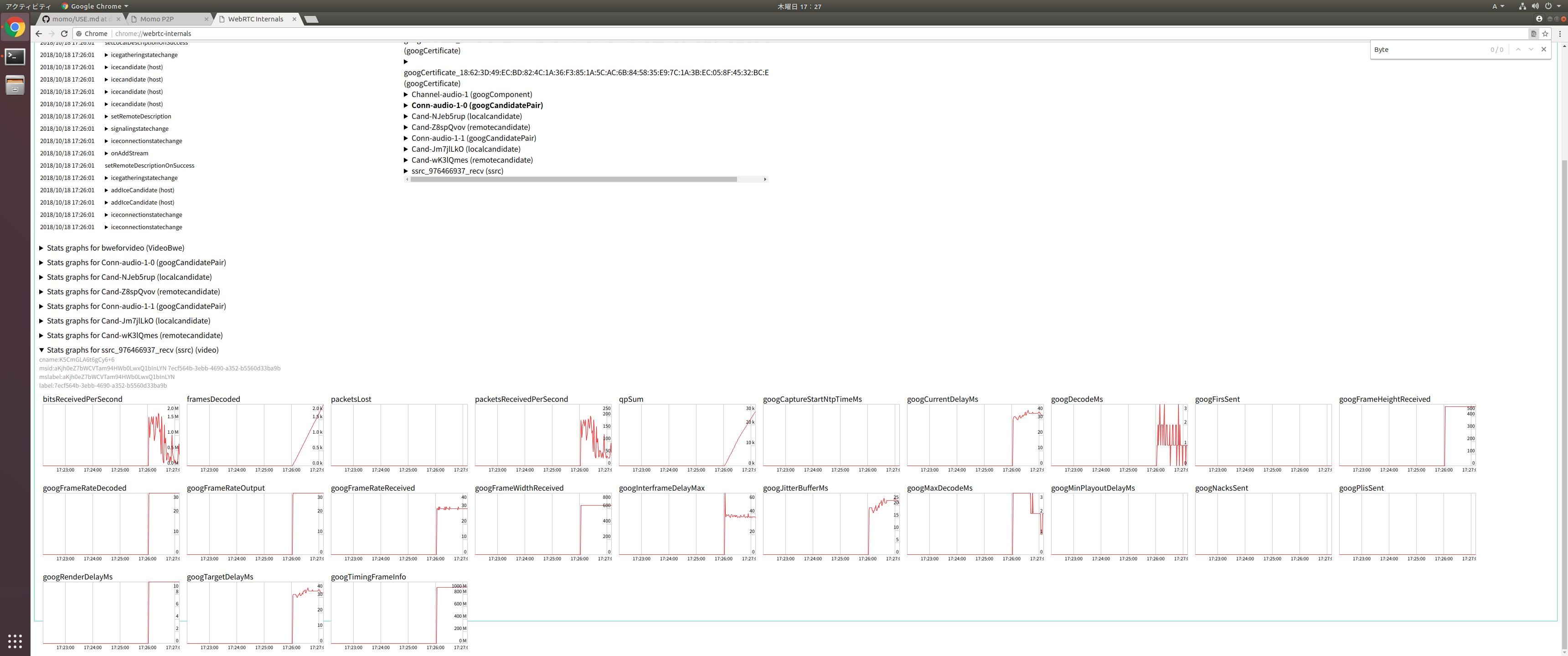 momo-18 10 0-rc1_ubuntu_x86_64において、4K配信ができない