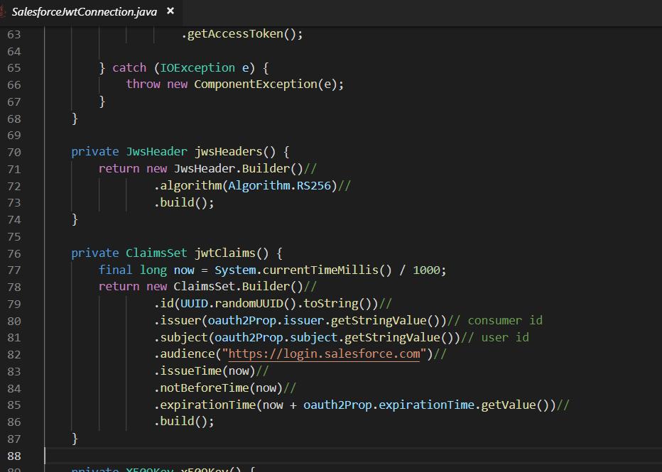 Salesforce JWT oAuth flow not work for sandbox · Issue #1423