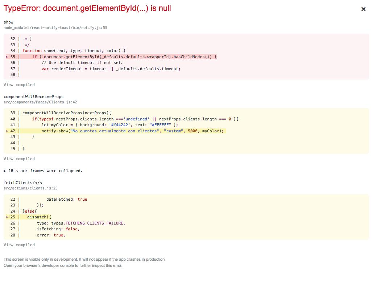 Error on getElementById · Issue #57 · jesusoterogomez/react