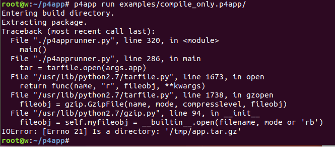 Is a directory: \u0027/tmp/app.tar.gz\u0027 · Issue #52 · p4lang/p4app · GitHub
