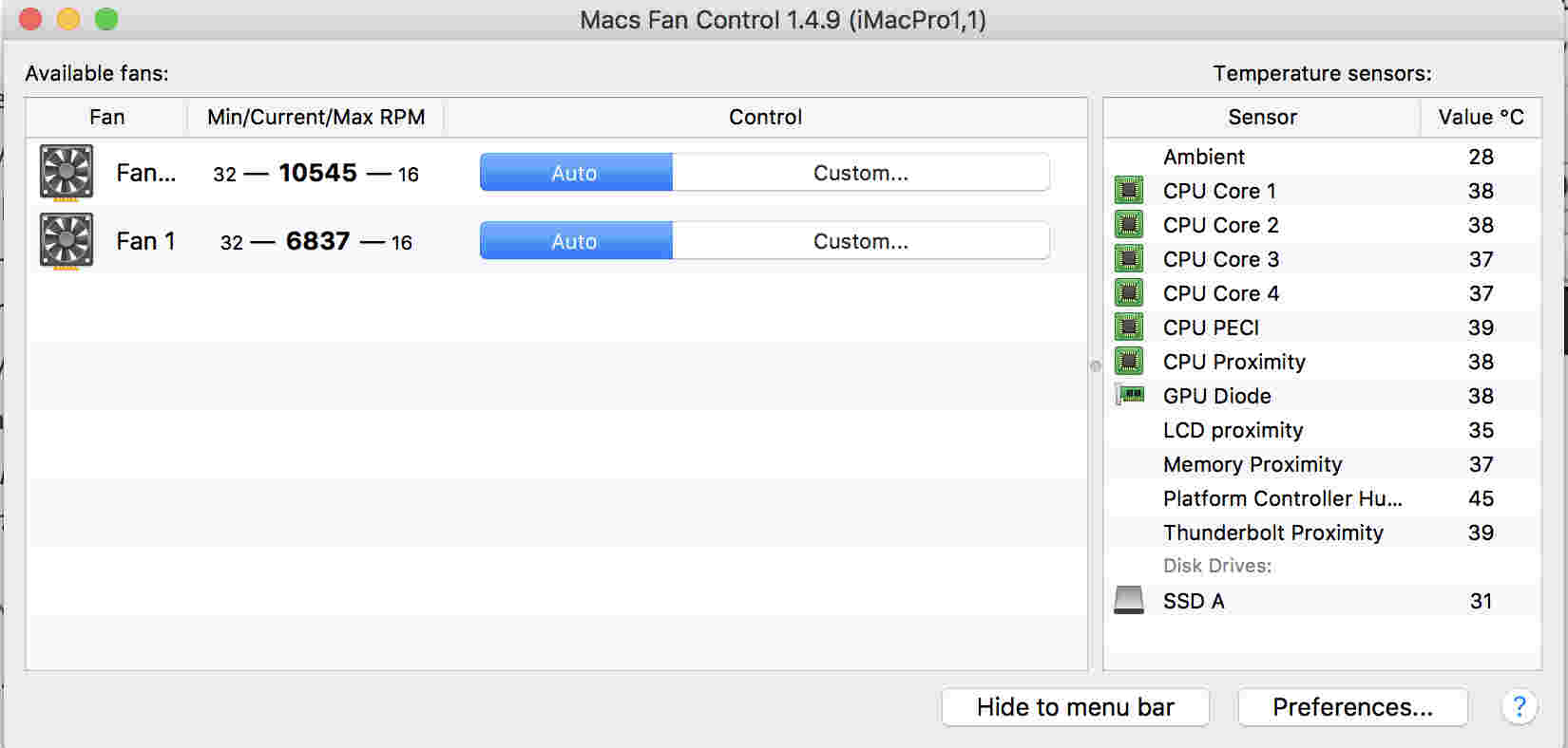 Incorrect fan readings on the new iMacPro · Issue #11