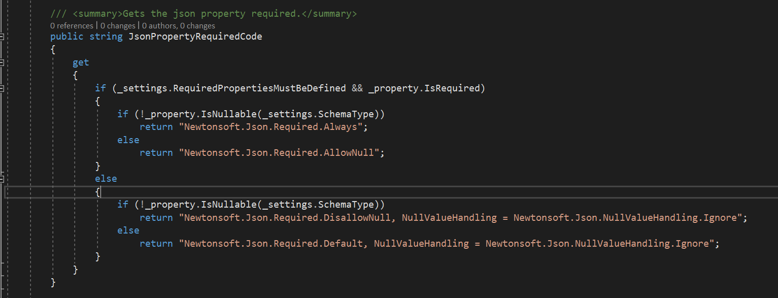 Nswag, c# Required = Newtonsoft Json Required DisallowNull