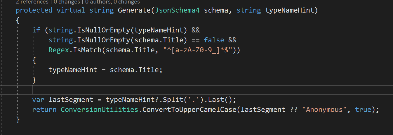 OpenAPI3: Schema title property ignored when defined inline