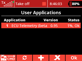 install - 16 - application added and running