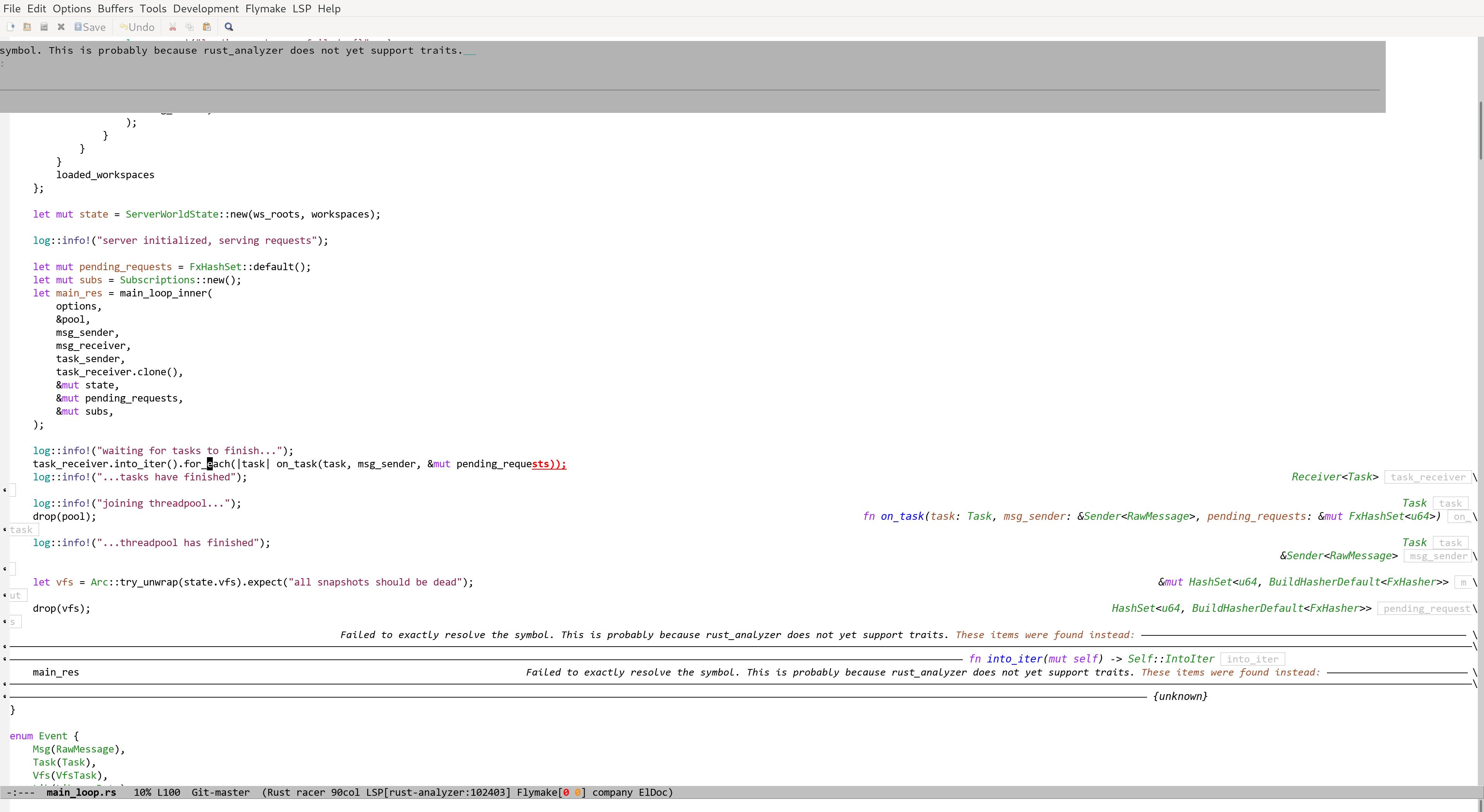 lsp error make UI unusable · Issue #284 · emacs-lsp/lsp-ui · GitHub